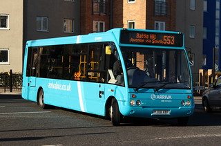 Arriva North East: 2834 YJ08XBP Optare Solo | by emdjt42