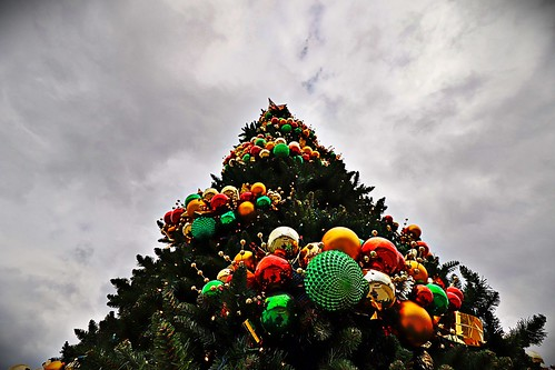"""Christmas Tree at Fountain Park"""