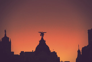 An angel in Madrid | Un ángel en Madrid