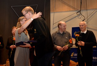 Johannes Forsberg vann instrumentalistpriset i division 1