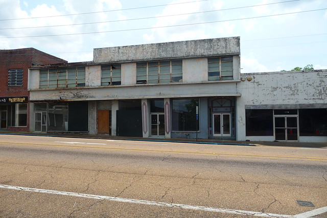 fmr Enterprise Journal Newspaper Offices.  McComb, Pike County Miss.