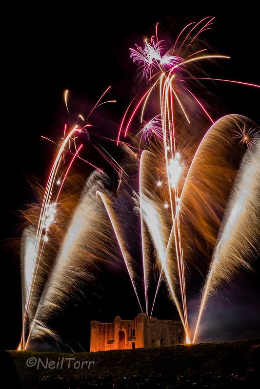 Castle Rising Fireworks 4