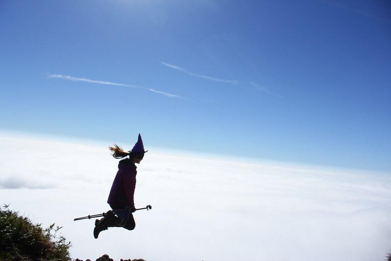 栗駒山の魔女