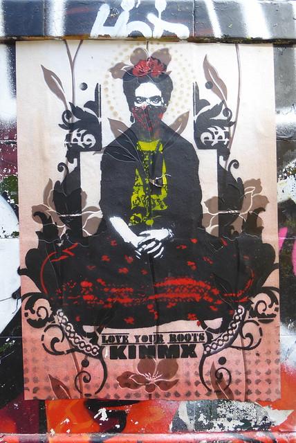 Kinmx street art, Shoreditch