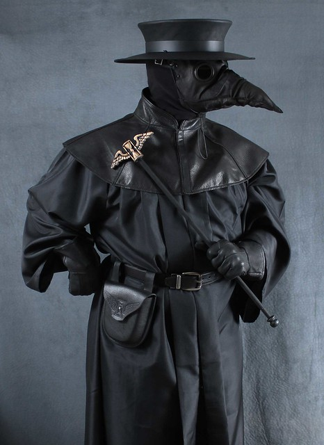 Plague doctor costume  with Stiltzkin mask