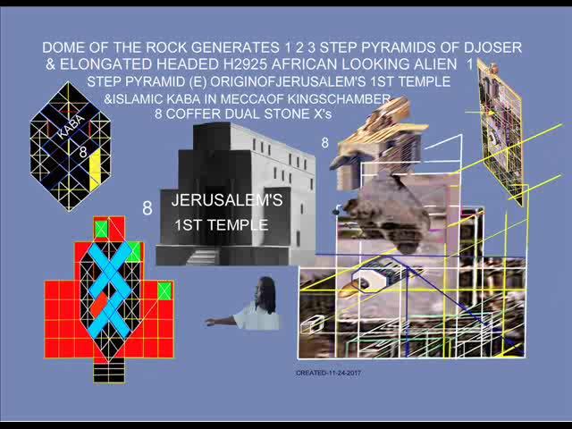 JERUSALEM'S 1ST TEMPLE HAS AN BLACK HAMITIC STEP PYRAMID (E) DESIGN