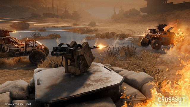 Crossout Update Adds New Game Modes And Reworked Enemy AI
