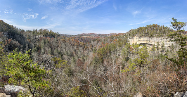 Overlook, Pogue Creek Canyon SNA, Pickett County, Tennessee 2