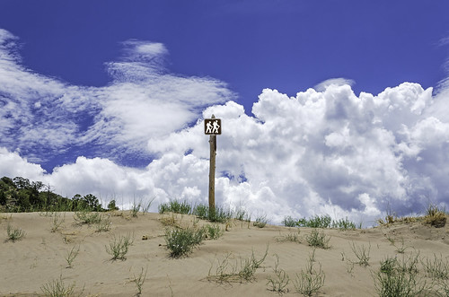 Sand and Clouds Hiking- | by Scrubhiker (USCdyer)