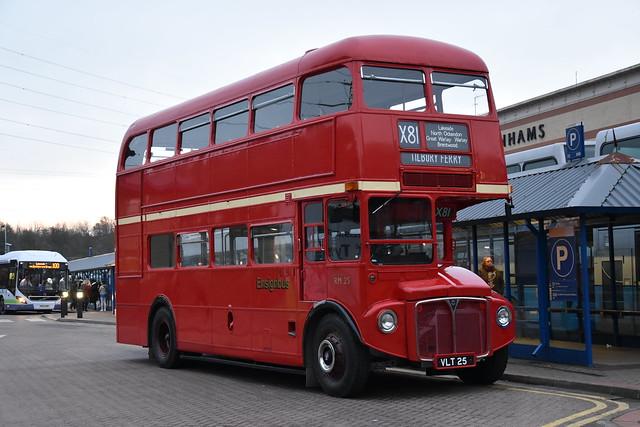Preserved - Ensignbus - London Transport - RM25 - VLT