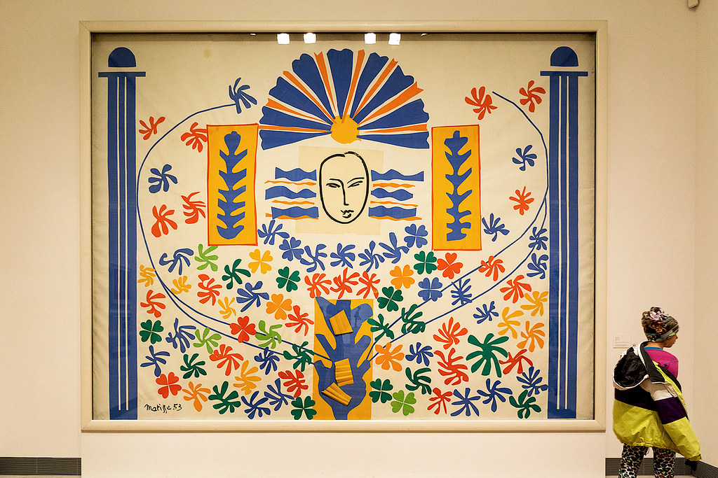 Apollo by Henri Matisse, 1953 | Matisse is one of my most fa… | Flickr