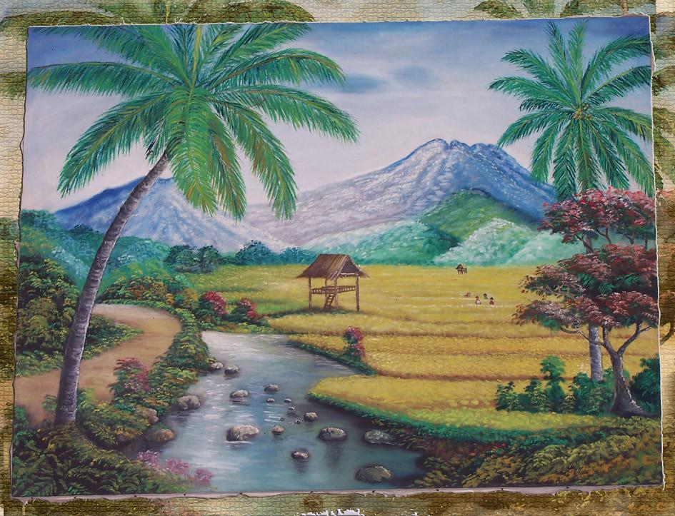 Gambar Lukisan Keindahan Alam Semulajadi Via Blogger Bit L Flickr