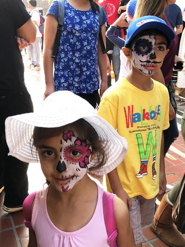 Children Celebrating Day of the Dead, Olvera Street
