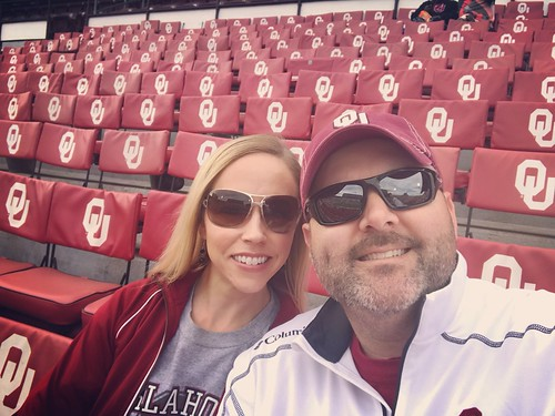 OU-west Virginia & Baker's last game! | by brittny_lynne