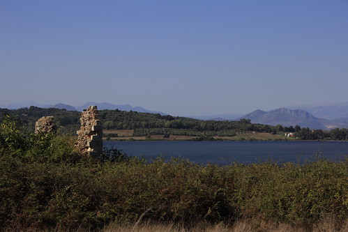 archeological epirus greece preveza nicopolis earlychristianic church ruins basilica