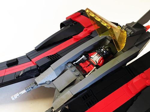 Aurek-Wing Fighter cockpit | by Oky - Space Ranger