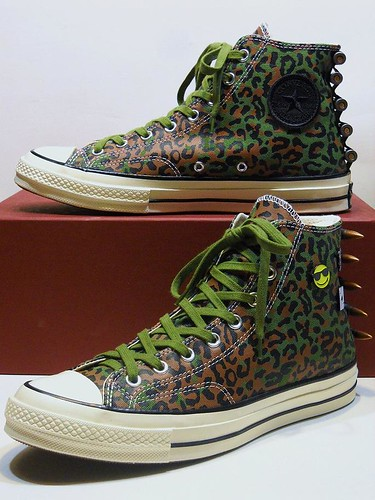 '70 CONCEPTS ''Zaire'' Leopard Camo - Spinach Green & Brown Hi 146908C | by hadley78