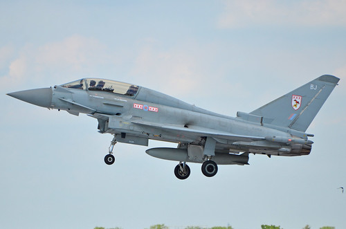 DSC_1573 - Eurofighter EF-2000 Typhoon T. Mk. 3, ZJ801/BJ, 29(R) Squadron, Royal Air Force, RAF Fairford, 10th July 2014.