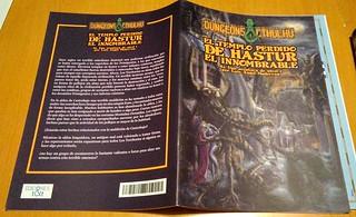 Dungeons&Cthulhu - El tempolo perdido de Hastur el Innombrable - Portada | by sectario001