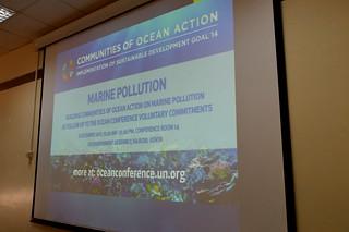 UNEA3 UNDESA Marine Pollution side event Dec 2017