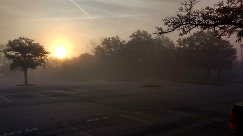sunrise foggy goodmorning stlcc stlccfv ferguson missouri