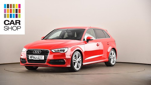 HF63BDE-used-AUDI-A3-DIESEL-SPORTBACK-2-0-TDI-S-Line-5dr-Diesel-Manual-RED-2013-XC-L-10 | by cardiffcarshopcollections