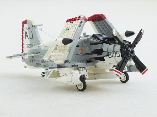 EA-1F Skyraider of VAW-33 | by Mad physicist