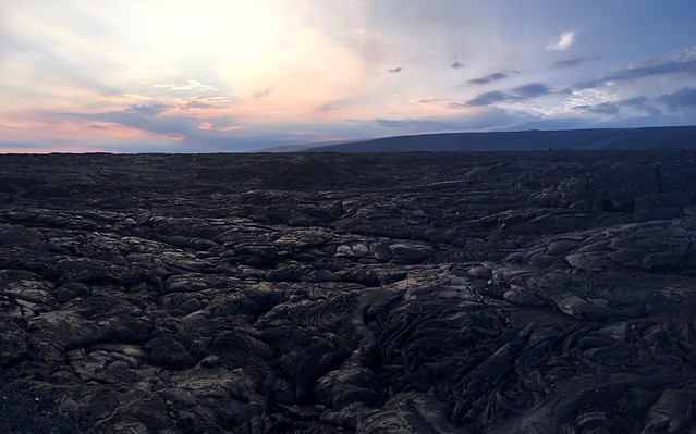 Searching for the lava flow