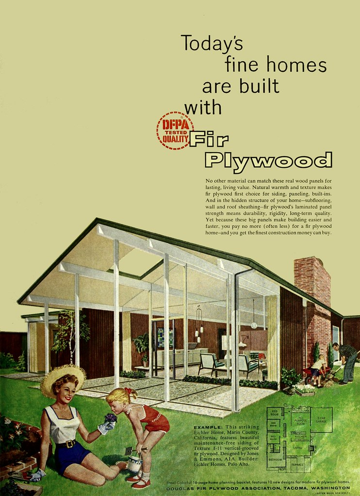 AQ Jones & Emmons - Eichler - Douglas Fir Plywood Assoc ad… | Flickr