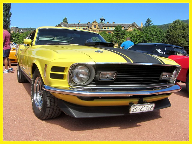 Ford Mustang Mach 1, 1970