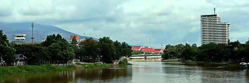 "chiangmai เชียงใหม่ ""pingriver"" แม่น้ำปิงแม่ปิง thailand ประเทศไทย เมืองไทย ""canoneos350d"" ""efs1855mm"" ""13556is"" panorama landscape"