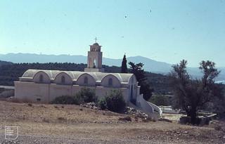 Monlithos church & SW coast of Rhodes