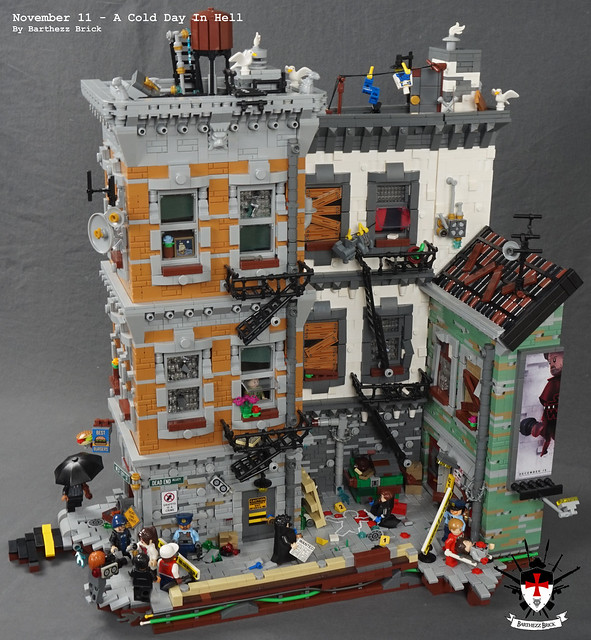 LEGO November 11, 2017 - A Cold Day In Hell