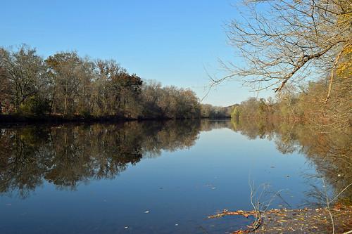 creek perkiomencreek audubon reflections autumn