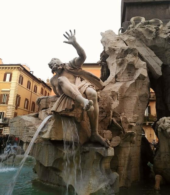 Fontana dei Fiumi - Bernini (piazza Navona - Roma)