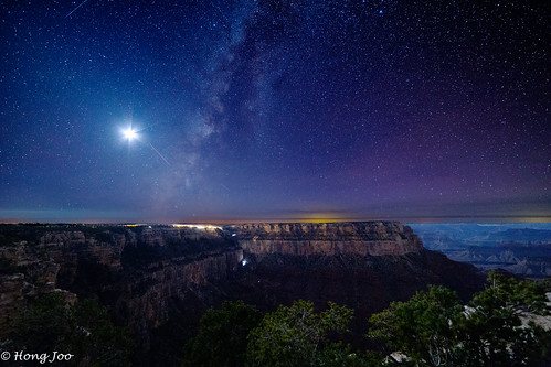 Setting Milkyway at Grand Canyon | by heyjojos