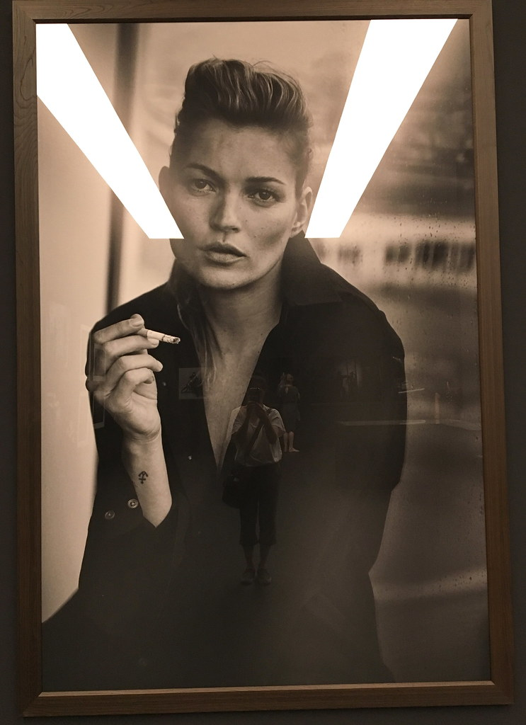 peter lindbergh: from fashion to reality exhibit at the kunsthalle munchen, munich, germany