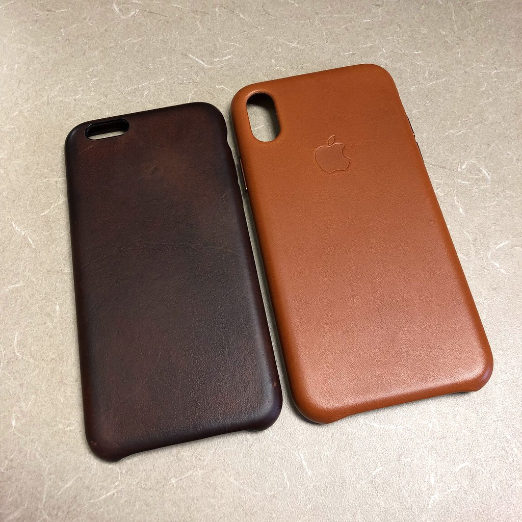 newest d6874 2d937 iPhone X | Saddle Brown cases for my iPhone X & iPhone 6. th… | Flickr