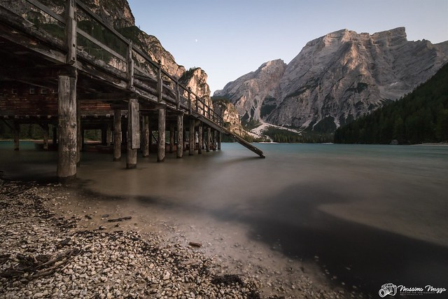Lago di Braies / Pragser Wildsee at sunset (Explored)