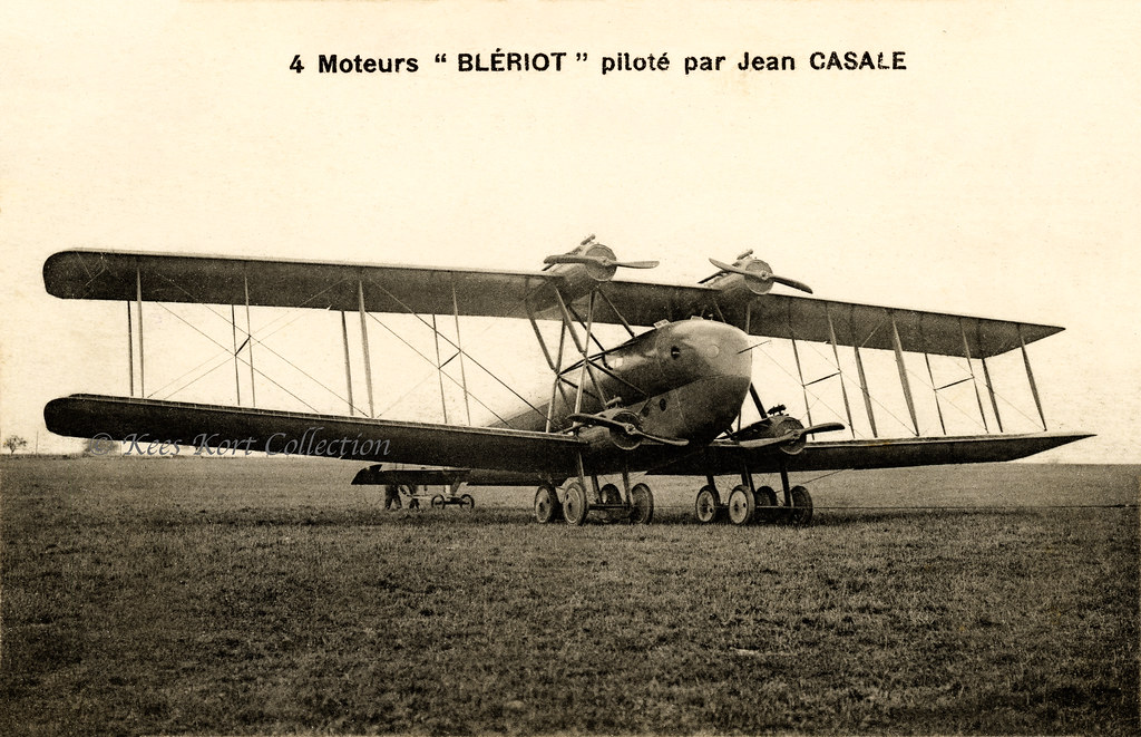 The Four Engined Bleriot Type Lxxv Type 75 Superavion Or Flickr