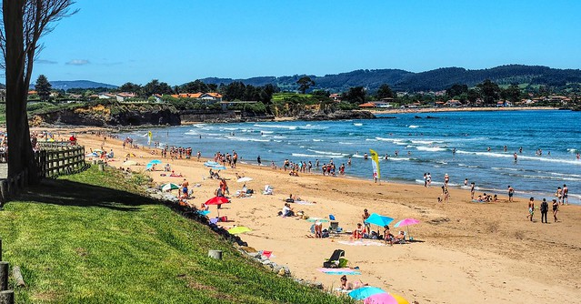Playa Espasa. Asturias.