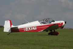 G-AXCY Jodel D.117A [499] Sywell 020917