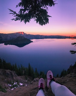 Crater Lake   by thecurlynomad