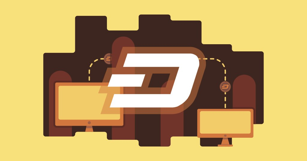 Dash Cryptocurrency Blockchain | A transfer image of the Das