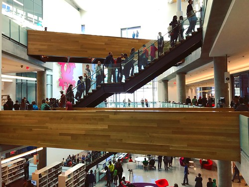 New Central Library Opening Day
