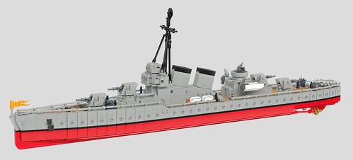 "Armada de Cervantes Destroyer ""Olvidable"""