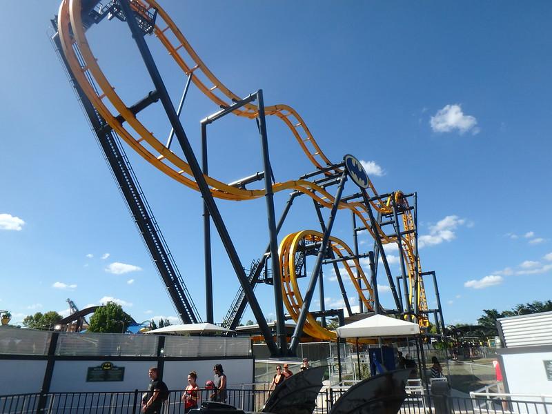 Batman The Ride Six Flags Fiesta Texas