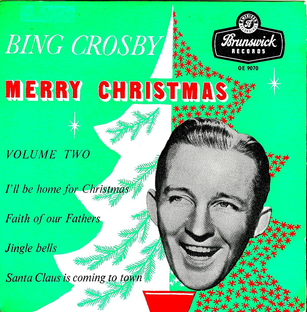 I Ll Be Home For Christmas Bing Crosby.Crosby Bing Merry Christmas Vol 2 Ep Uk 1957 Flickr