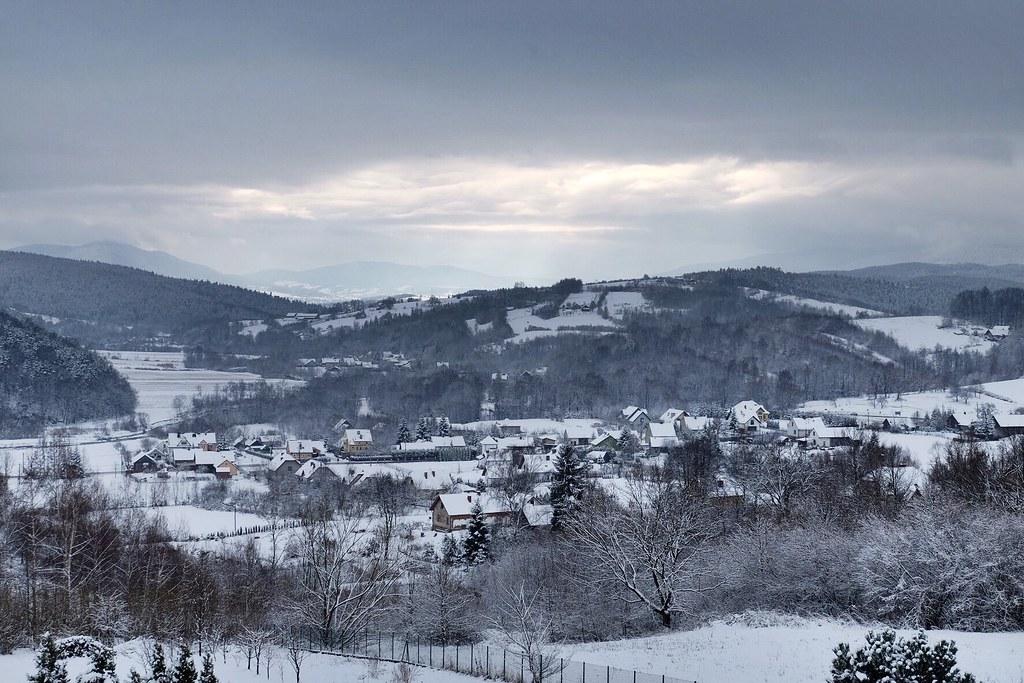 Pierwszy śnieg tej zimy / First snow of this winter