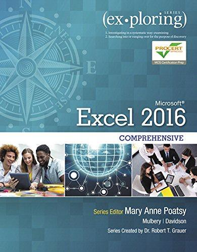 Read PDF Exploring Microsoft Office Excel 2016 Comprehensi